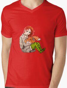 dana & fox Mens V-Neck T-Shirt
