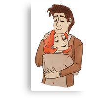 terma hug Canvas Print