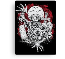 Return Of The Linving Dead Canvas Print