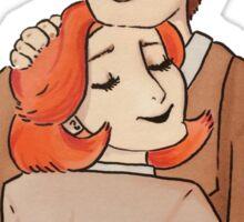 terma hug Sticker