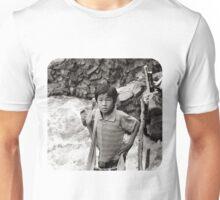 Arms Akimbo Unisex T-Shirt