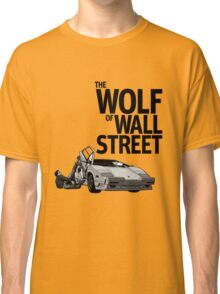 THE WOLF OF WALL STREET-LAMBORGHINI COUNTACH Classic T-Shirt