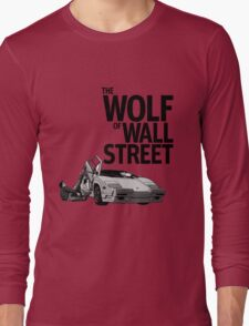 THE WOLF OF WALL STREET-LAMBORGHINI COUNTACH Long Sleeve T-Shirt