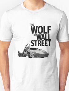 THE WOLF OF WALL STREET-LAMBORGHINI COUNTACH Unisex T-Shirt