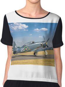 Hawker Sea Fury T.20S VX281 G-RNHF Chiffon Top