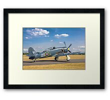 Hawker Sea Fury T.20S VX281 G-RNHF Framed Print