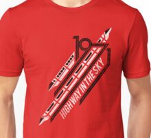 Monorail Red T-Shirt  Unisex T-Shirt