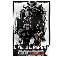 Edge of Tomorrow poster Poster