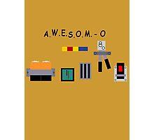 AWESOM-O 4000 Photographic Print