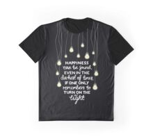 H QUOTE Graphic T-Shirt