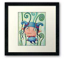 Fern elf Framed Print