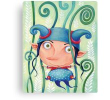 Fern elf Canvas Print