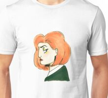 skeptical scully Unisex T-Shirt