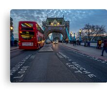 So much London in one picture Canvas Print