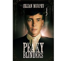 Cillian Murphy - Peaky Blinders - Tommy Shelby Photographic Print