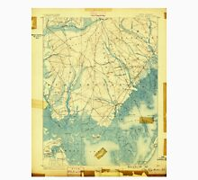 USGS TOPO Map New Jersey NJ Little Egg Harbor 255249 1888 62500 Unisex T-Shirt