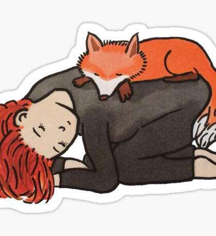dana & fox Sticker