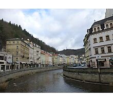 The Cosmopolitan Town of Karlovy Vary, Czech Republic Photographic Print