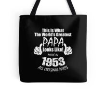 Greadtest PAPA - Made in 1958 Tote Bag