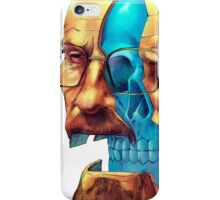 BREAKING BAD WALTER´S HEAD iPhone Case/Skin