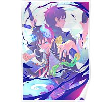 Blue Exorcist Anime Poster