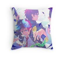 Blue Exorcist Anime Throw Pillow
