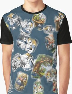 Fragments of Alice Color Graphic T-Shirt