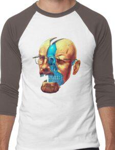 BREAKING BAD WALTER´S HEAD Men's Baseball ¾ T-Shirt