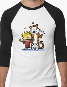 LOVEABLE CALVIN AND HOBBES : TSHIRT Men's Baseball ¾ T-Shirt