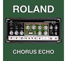 Vintage Roland  Chorus Echo Photographic Print