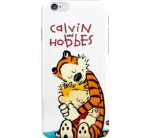 CALVIN HUG HOBBES : TSHIRT iPhone Case/Skin