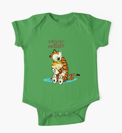 CALVIN HUG HOBBES : TSHIRT One Piece - Short Sleeve