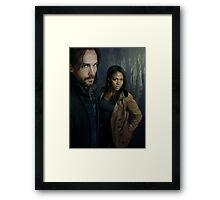 Sleepy Hollow - Ichabod and Abbie Framed Print