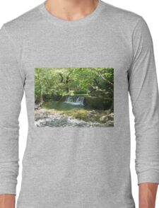 Eria Nature in Evia Island, Greece Long Sleeve T-Shirt
