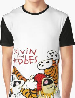 CALVIN AND HOBES LAUGH : TEE Graphic T-Shirt