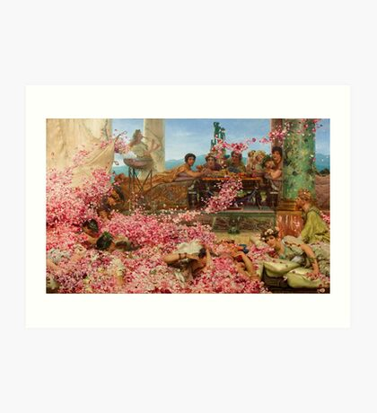 The Roses of Heliogabalus by Sir Lawrence Alma-Tadema Art Print