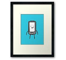 Mobile Man Framed Print