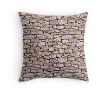 Limestone pattern Throw Pillow