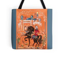 Prince on horse.  Tote Bag
