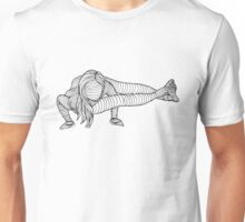 Yoga Girl - Eight Limb Pose Unisex T-Shirt
