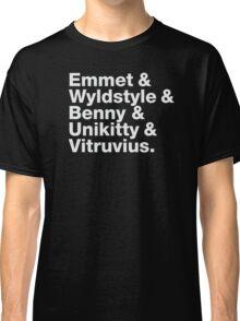 Brick Names Classic T-Shirt