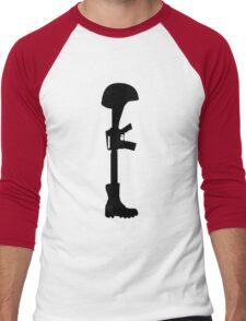 The Battle Field Cross Men's Baseball ¾ T-Shirt