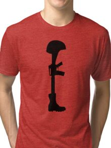 The Battle Field Cross Tri-blend T-Shirt