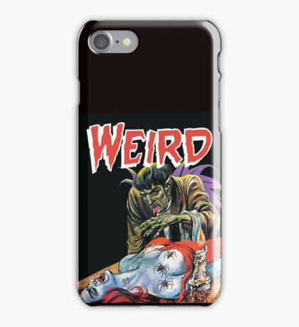 Spider Lady - Eerie Publications - Textless Cover iPhone Case/Skin