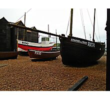 Boats on the Stade Photographic Print