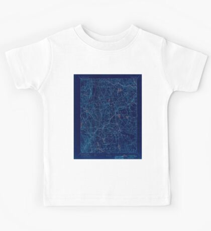 USGS TOPO Map Connecticut CT Gilead 331027 1892 62500 Inverted Kids Tee