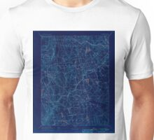 USGS TOPO Map Connecticut CT Gilead 331027 1892 62500 Inverted Unisex T-Shirt