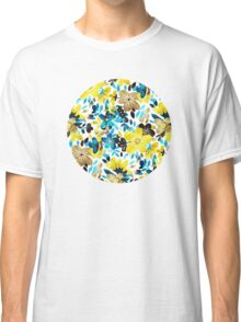 Happy Yellow Flower Collage Classic T-Shirt