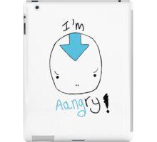 avatar aang angry! iPad Case/Skin