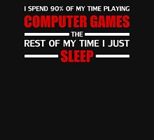 Computer Games Womens Fitted T-Shirt